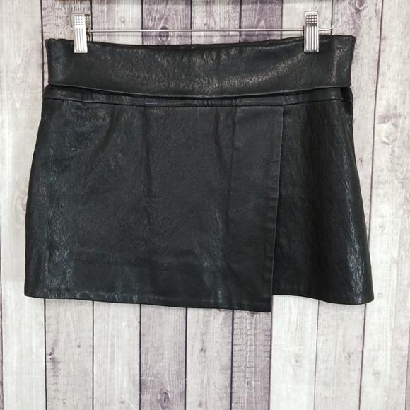 0062f1a42 Isabel Marant Dresses & Skirts - Isabel Marant black lamb leather mini skirt